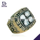 Wholesale customized brass Championship ring 1979 Pittsburgh Super Bowl World Champions ring