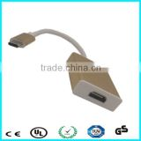 High quality 1080 P 15 cm usb type c to hdmi converter for macbook