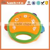 Professional design plastic baby toy bell and drum for sale