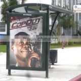 Outdoor bus stop Advertising billboards printing                                                                         Quality Choice