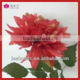 fresh cut silk fabric flower bouquet making for wedding decorations
