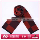 2015 Classic plaid scarves for men wool winter warm scarf