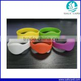 Waterproof different size RFID Silicone wristband RFID bracelet RFID armband for event