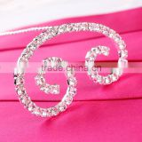 Wedding Crystal Bouquet Jewelry Letter C Bouquet Jewelry Crystal Initial for Bridal Bouquet