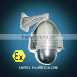 304,316,316L stainless steel ip explosion proof digital ptz camera for gasoline