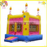 2016 New PVC Commercial Children outdoor and indoor water play toys inflatable bounce house price