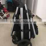 2015 Europe new product High quality Double seat/Twins Baby Pushchair/ Stroller