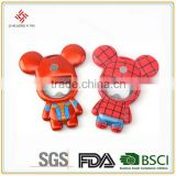 Promotional 2016 new pvc bear bottle opener