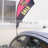 beach flag style Car Window Flag Holders