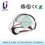 Relay Switch Photoelectric Switch Wire-in outdoor controller Photocell With Extended Sensor