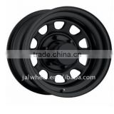 "4x4 Steel Rims of 15x8.0"" for Offroad Cars"