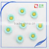 stock!!!phone hair home decoration acrylic resin flower cabochon artificial resin flower