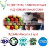 Factory direct sale and High concentration of bubble gum flavor used in e liquid