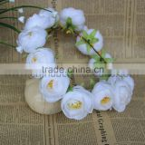 wedding supply Decorative wedding hair accessories flower head wreath