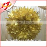 Wholesale popular artificial flower / fancy chair cover sash for wedding Discount