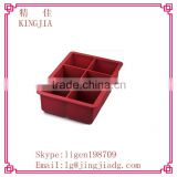 silicone ice block mold for whisky, ice maker extra large silicone trays,stone cask ice cube tray
