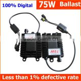 Wholesale best selling car accessories Xenon ignition units Xenon HID Ballast 75W for auto headlight, driving light