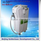 Fine Lines Removal 2013 Exporter Beauty Salon Equipment Diode Laser E-light+IPL+RF Machine 2013 Ipl Hand Piece 640-1200nm