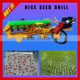 Hot Sale Profesional Manufactured Diesel Engine With Fertilizer Application Paddy Field Paddy Planting Machine