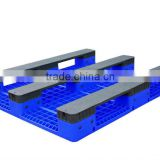 plastic pallet with steel tubes