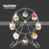 Decorative ferris wheel wedding mental cupcake stand