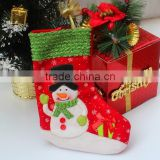 Hot best selling new products alibaba china fabric bulk handmade diy custom felt red wholesale burlap christmas stockings
