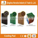 Heracles cooling pad and ventilation exhaust fan for greenhouse equipment and poultry equipment