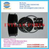 DENSO 7SEU17C Auto AC Compressor clutch 6pk pulley FOR MB Mercedes Benz W163 W203 S203 C209 W211 0001230011 00012301211 00012305