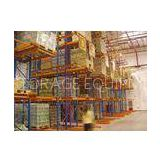 steel spray powder coating finished very narrow aisle racking system for palletised products