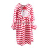 Fancy Frocks For Baby Girls Party Dress Design Boutique Casual Wear Chevron Santa Kids Chriistmas Party Dresses