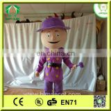 HI hot sale fireman mascot