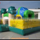 Commercial inflatable bouncer castle, multi propose bouncy castle for kids, funny airblown inflatable forest theme bouncy
