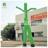 Hot sale Green two legs Inflatable dancer
