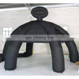 2015 inflatable black tent in spider legs shape, inflatable party tent