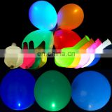 led balloon lighting up decorate party size 12 inch flashing led light balloon
