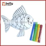 New washable painting diy stuffed coloring toy
