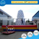 inflatable kids climbing wall, rock climbing, sport game