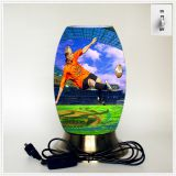 Creative lamp, decorative table lamp, LED desk lamp, South African culture series table lamp (Dzaf011)
