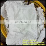 white industrial cleaning cotton rags recyled 100% cotton wipers rag hot sale wiping rags in bales