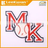 Varsity Uniform Chenille Felt Letter Patch Applique,Embroidered Sew-on Alphabet Letter Chenille Patch