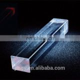 custom high transparent solid plexiglass square rod