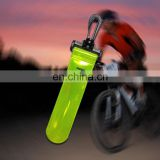 PVC Reflective LED Safety Light Clip On Hanger Tag promotional gift