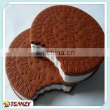 Chocolate cookie notepad