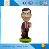 Mr . Bean Figurine Souvenir Resin Crafts Funny Bobble Head