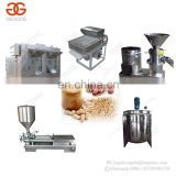 Continuous Full Automatic Hummus Sesame Tahini Paste Making Peanut Butter Production Line Groundnut Butter Processing Machine