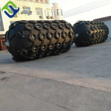 Inflatable Dia2.5m L3.5m tug marine rubber fender to Romania