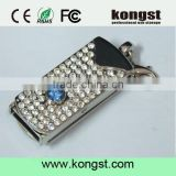 Metal usb filled with diamand ,Jewelry diamond usb flash drive 2.0,Usb memory stick