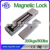 Smart access control system single door electric lock 350kg/800bls signal feedback magnetic door lock