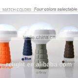 Multifunctional Rechargeable LED Bulb With red alarm mode, for emergency situations magnet base