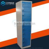 New design mobile phone charging station for supermarket/multi door metal storage cabinet